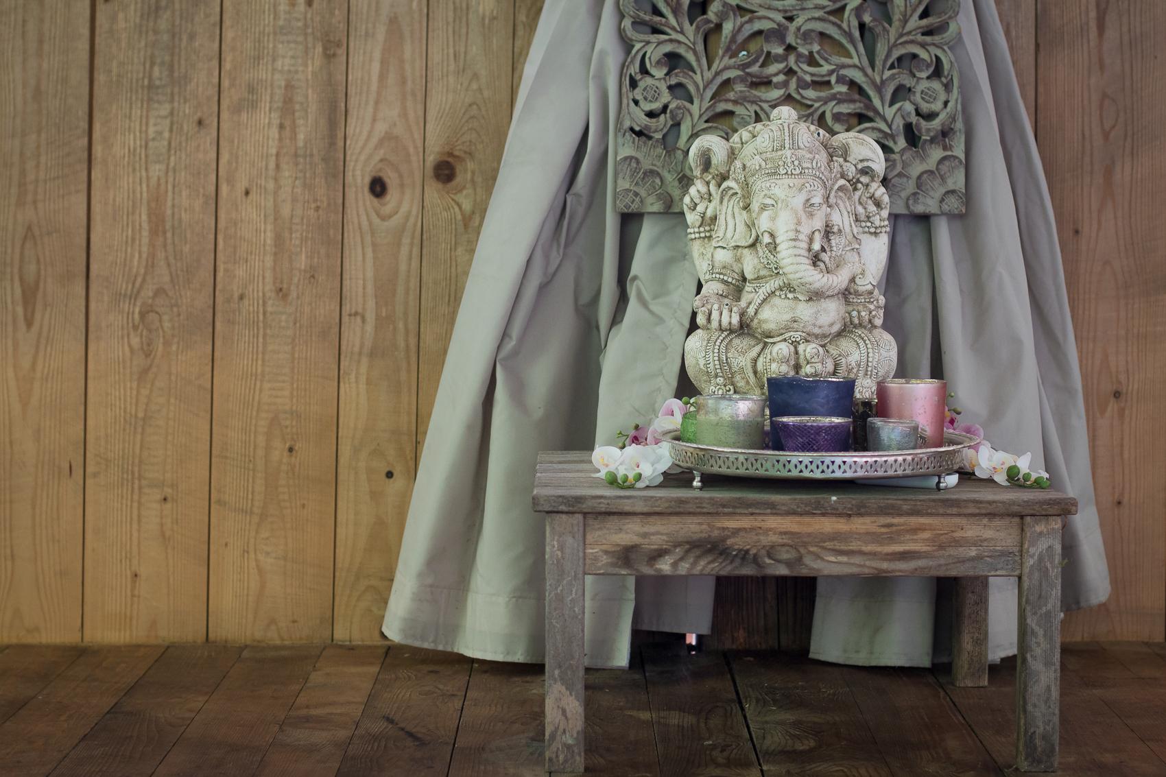Puja mit Ganesha
